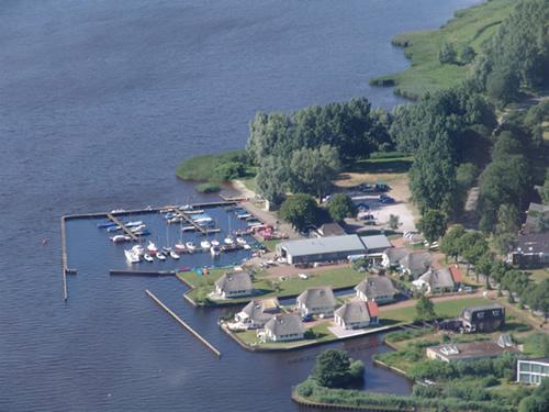 Het Schildmeer vroeger en nu.